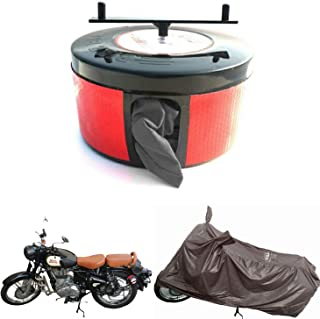 Bike Blazer Cover Semi Automatic Waterproof Universal Size Full Body Bike Cover for All Types of Two Wheeler (Water Resist...