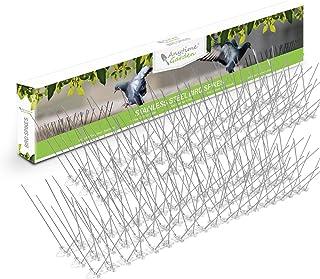 comprar comparacion Púas de acero inoxidable para pájaros - Disuasivo duradero para palomas: excelente elemento disuasorio para pájaros, cuerv...