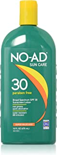 Best no ad sunscreen ingredients Reviews