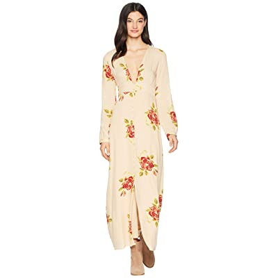 Amuse Society All Buttoned Up Dress (Sand) Women