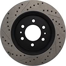 StopTech 127.65119L Sport Drilled/Slotted Brake Rotor (Front Left), 1 Pack