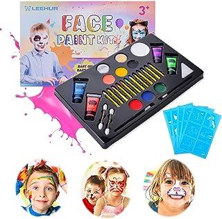 Pintura Cara para Niños Hallowen Pinturas Faciales y