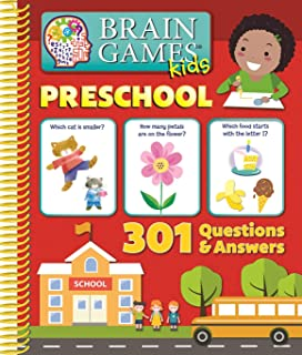 Brain Games Kids: Preschool - 301 Questions and Answers - PI Kids