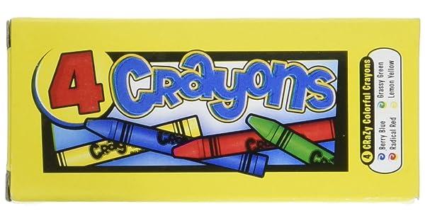 Four Crayons Per Box 12 Boxes Per Unit Fun Express IN-85-1032