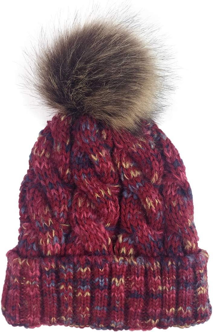 URDEAR Women's Knitted Beanie Hats Winter Warm Knit Soft Stretch Slouchy Skull Cap Ski Cap Beanie for Women Girls