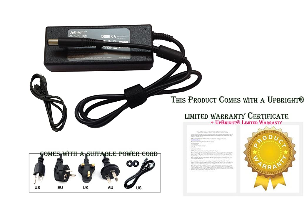 UpBright New 18.5V 3.5A AC/DC Adapter for HP Spare 693711-001 AD9043-021G2 P/N 677774-004 20zw 23zw All-in-One 20-r110zw 23-r140zw Laptop Notebook 65W Power Charger (w/OD: 7.4mm Black Big Plug Tip)