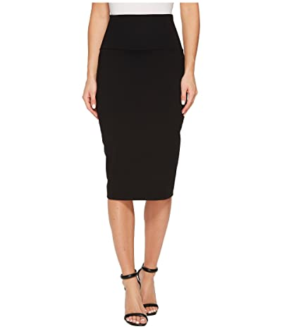 Susana Monaco Jenna High Waist Skirt (Black) Women