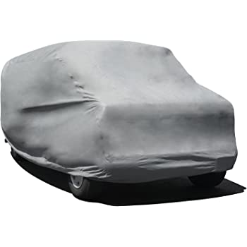 "Budge Duro 3 Layer Van Cover, Water Resistant, Scratchproof, Dustproof Cover, Fits Vans up to 19'6"", Gray"