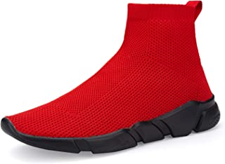 Men's Socks Sneakers Slip On Lightweight Breathable Comfortable Fashion Walking Shoes