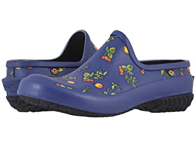 Bogs Patch Clog Berries (Navy Multi) Women