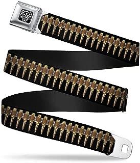 Buckle Down Seatbelt Belt Bullets Regular