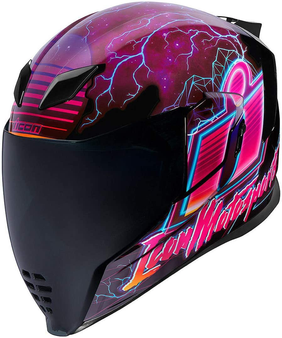 Icon Airflite Synthwave Helm M 57 58 Auto