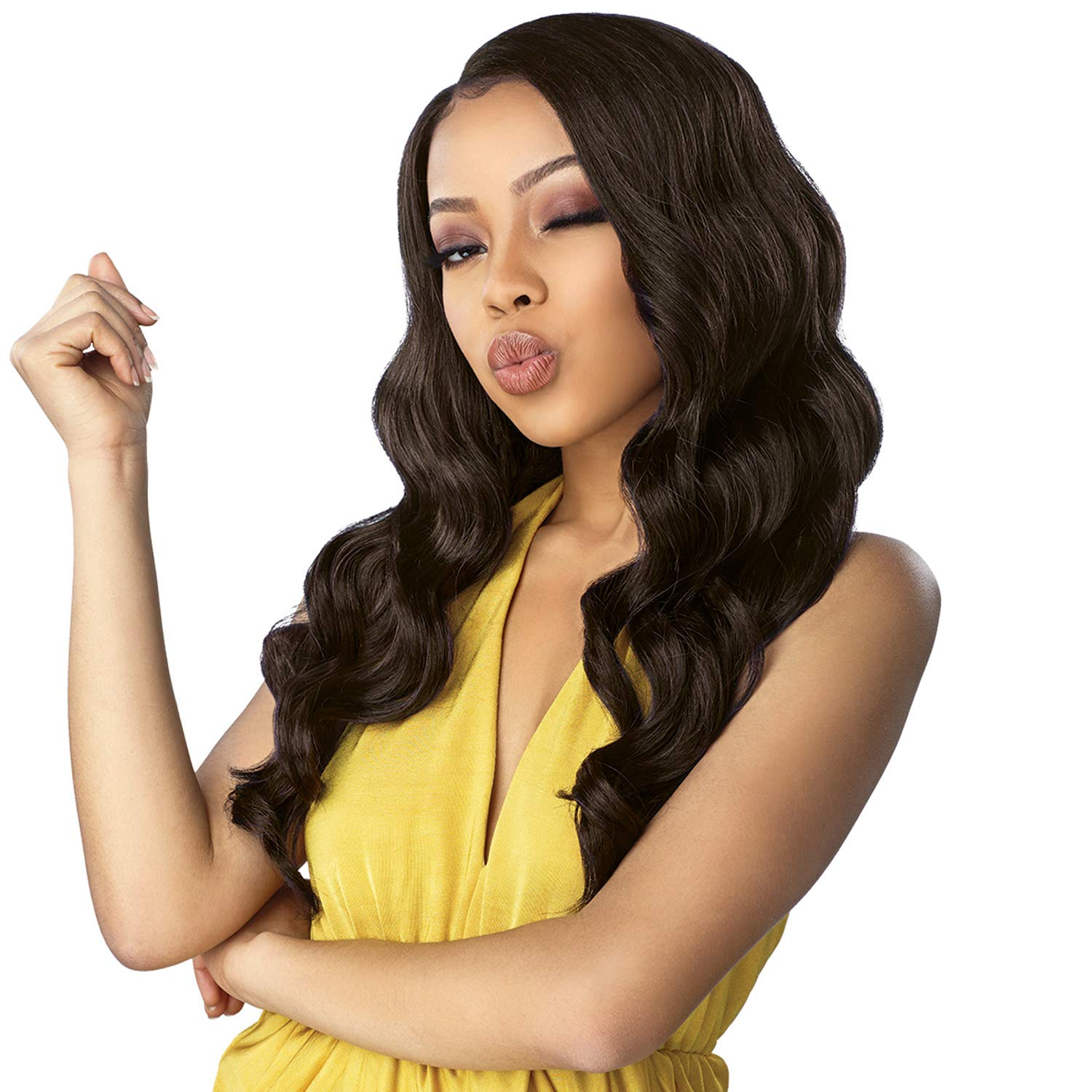 Sensationnel Gifts Synthetic Dashly Deep Side Part Front Wig Very popular - LA Lace