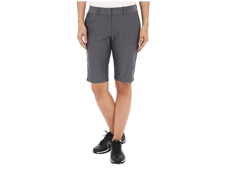 Nike Golf Bermuda Tournament Shorts (Dark Grey/Dark Grey) Women