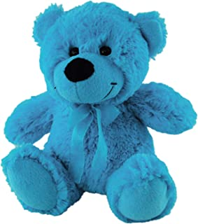 Elka Australia Jelly Teddy Bear Soft Plush Toy, Medium Blue, 23 Centimeters