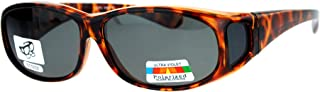 SA106 Unisex 60mm Fit Over Rectangular Anti-glare Polarized Lens Sunglasses