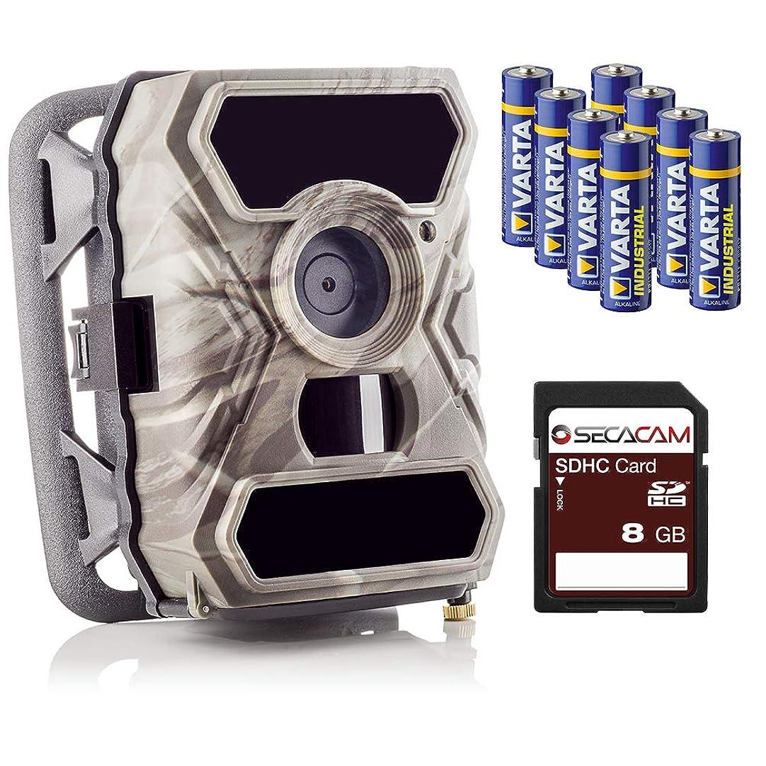 蒸気役に立たない樫の木SECACAMラプターフルHD 52°監視カメラと狩猟室 - 安い、ディスカウント価格フォトトラップ - プレミアムパック、ナイトビジョン