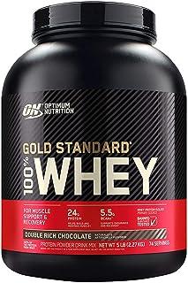 【国内正規品】ON Gold Standard 100% ホエイ ダブルリッチチョコレート 2.27kg(5lb) 「ボトルタイプ」
