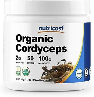 Nutricost Organic Cordyceps Powder 100 Grams - USDA Certified Organic, Non-GMO, Gluten Free
