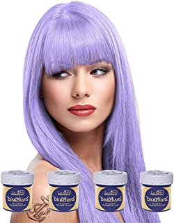 4 x La Riche Directions Semi-Perm Hair Colour Lilac (ALL COLOURS Avail) 4x 88ml by La Riche