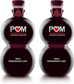 POM Wonderful 100% Pomegranate Juice, 48 Fl Oz, 2 Count
