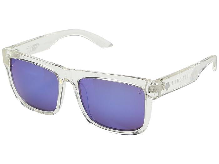 Spy Optic Discord (Clear/Happy Bronze/Dark Blue Spectra) Sport Sunglasses