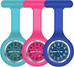 Nurse Watch,Nurse Fob Watch,Nursing Watch,Clip Watch,Lapel Watch,Nurse Fob Watch with Second Hand,Clip on Nursing Watch