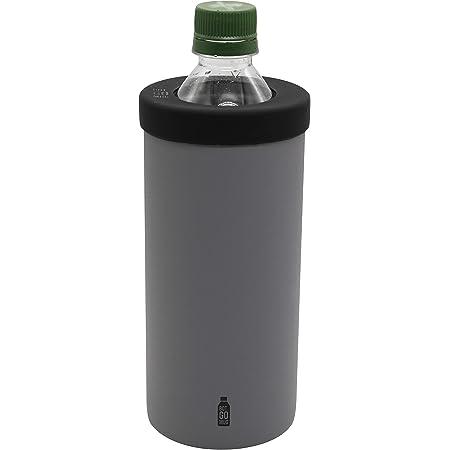 シービージャパン ペットボトル ホルダー グレー Lサイズ 保温 保冷 ステンレス 真空 断熱 BOT GOMUG