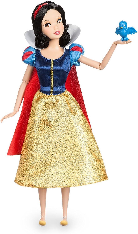 Disney Snow White Classic Doll with blueebird Figure  11 1 2 Inch