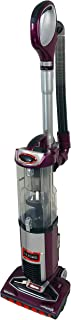 Shark DuoClean Technology Slim Upright Vacuum NV200Q HEPA Filter Powerful Lightweight with Advanced Swivel Steering, Flexi Crevice Tool and Under-Appliance Wand NV200QPR (Renewed) (Purple)