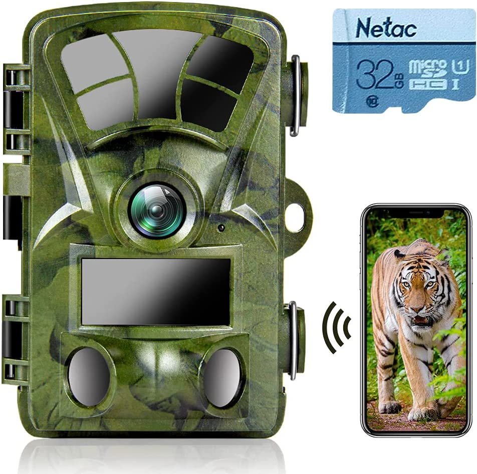 WiFi Trail Camera Ranking TOP13 4K 20MP with 32GB Very popular Game Card SD Ctronics
