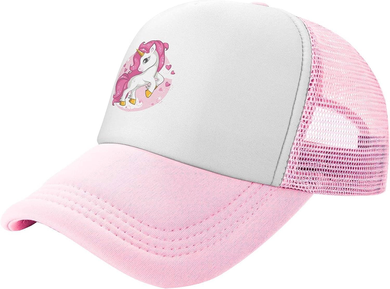 Pink Magical Unicorn Mesh Trucker Toddler Luxury goods Snapback Base Hat Kids Nippon regular agency