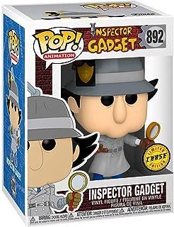 Funko Pop! Inspector Gadget Chase Figura - Inspector Gadget Mostrando su insignia