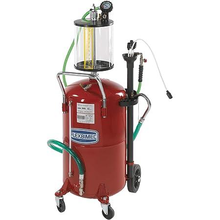 Aspiratore recuperatore olio pneumatico serbatoio da 70 Litri sonde Fervi 0596