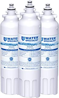 Waterspecialist ADQ73613401 Refrigerator Water Filter, Replacement for LG LT800P, Kenmore 9490, ADQ73613408, ADQ75795104, WF-LT800P, 469490, LMXC23746D, ADQ73613402, 46-9490 (Pack of 3)