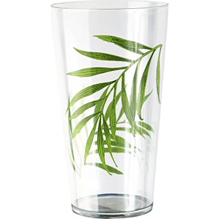 Corelle Coordinates By Reston Lloyd Bamboo Leaf Acrylic Tumbler Glasses 19 Ounce Set Of 6 Kitchen Dining