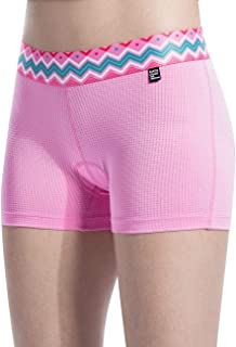 Santic Women 3D Padded Cycling Underwear Quick Dry Gel Bike Underwear and Bike Shorts