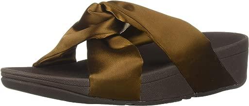 FitFlop Women's Piper Satin Slide Sandal