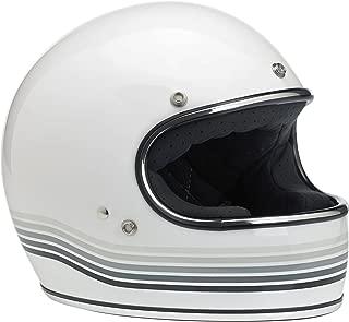 Biltwell Gringo Le Spectrum Helmet (Gloss White , XX-Large)
