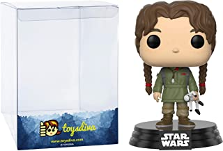 Young Jyn Erso: Funk?o Pop! Vinyl Figure Bundle with 1 Compatible 'ToysDiva' Graphic Protector (185 - 14872 - B)