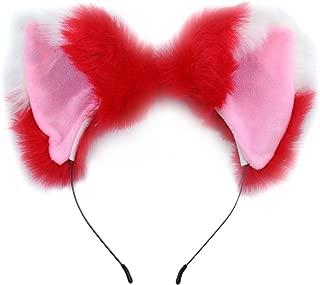 Ears Headband Cat Fox Ears Hair Bands Anime Party Cosplay Headband for Halloween
