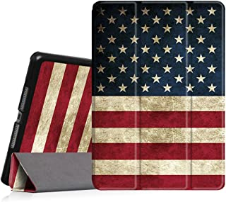 Fintie iPad Air Case- [Slim] Ultra Lightweight Stand  Protective Cover with Auto Sleep/Wake Feature for Apple iPad Air, US Flag