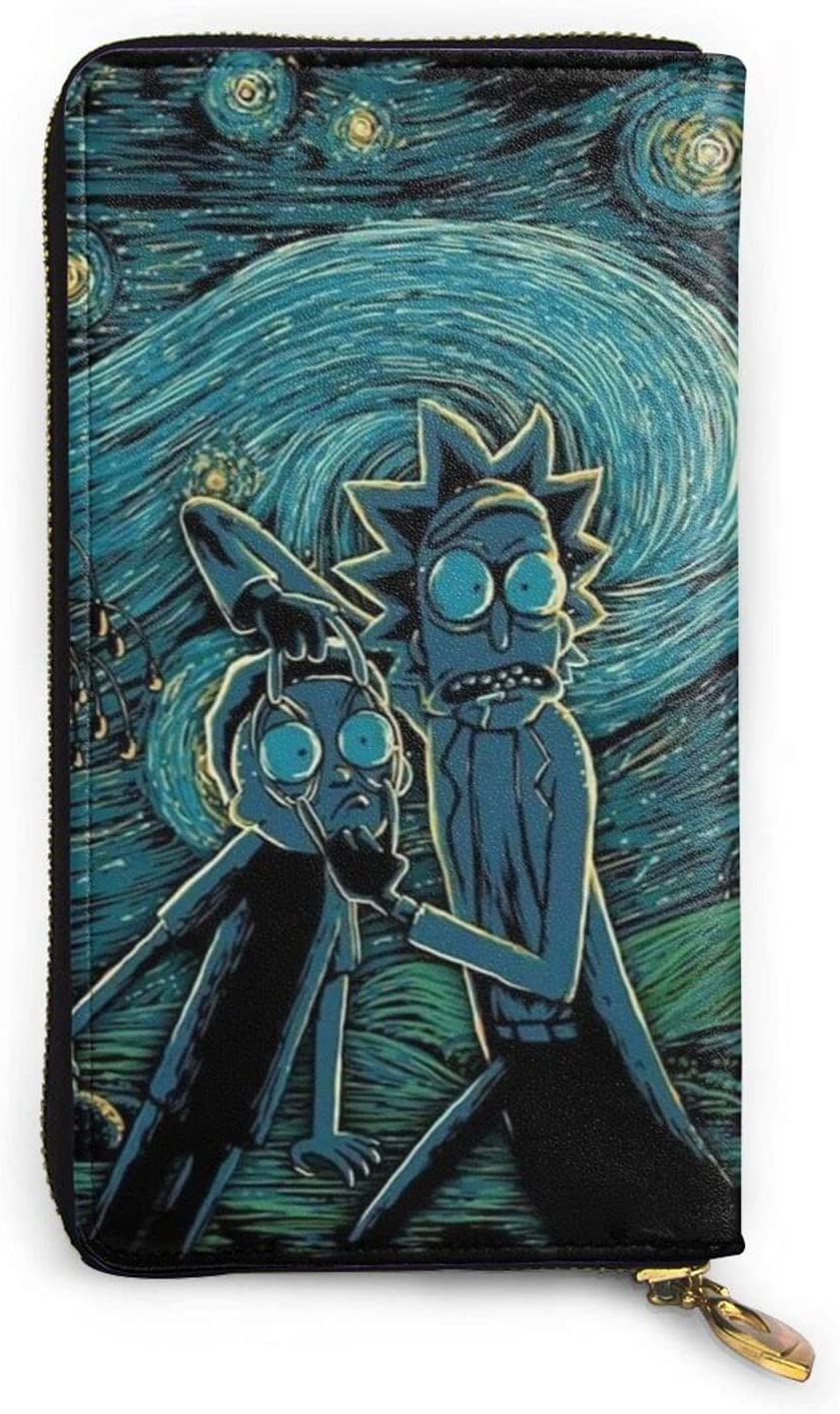 Rick Morty Wallet Cartoon Sale price OFFicial site Anime Fashion Men Leather Women