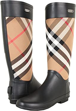 Burberry - Check Panel Rainboots