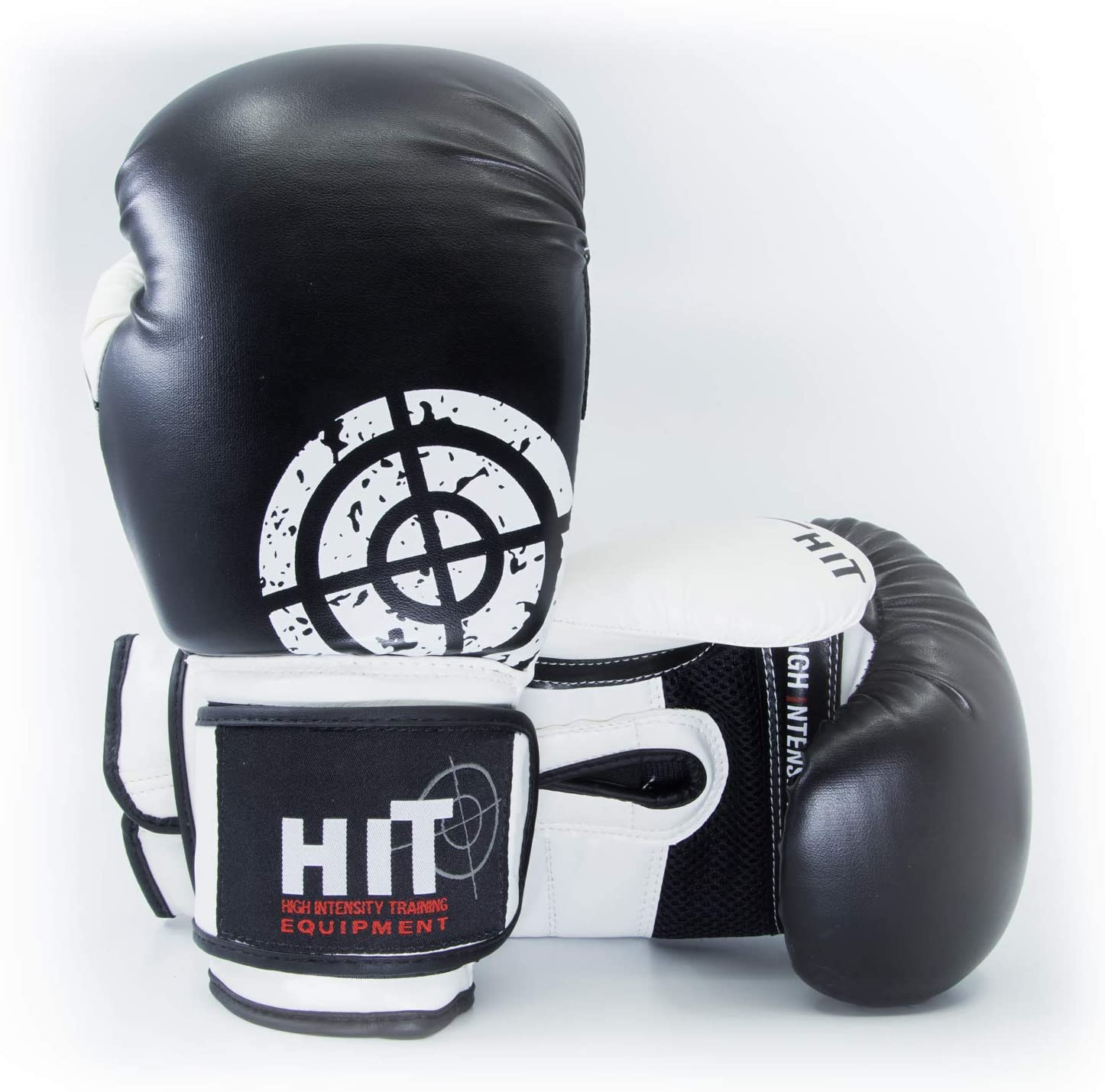 HIT Sparring Boxing Black Lowest price challenge Max 84% OFF 14oz Gloves