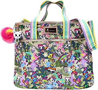 Tokidoki Camo Kawaii Cinch Crossbody Shoulder Bag : Camo Kawaii