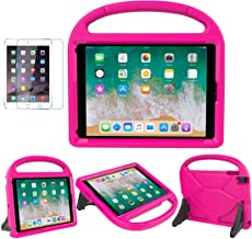 iPad 9.7 2018 / 2017 / Air 1/2 / Pro 9.7 Case for Kids - SUPLIK Durable Shockproof Protective Handle Bumper Stand Cover wi...