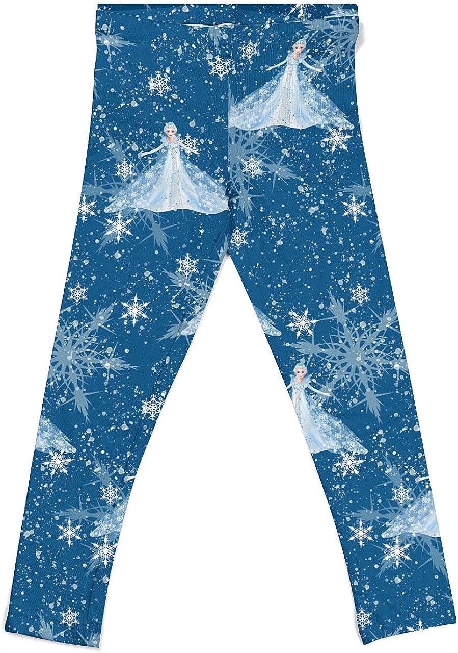 Rainbow Rules Girls' Leggings - Elsa Crystals