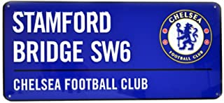 Chelsea FC Official Soccer Colored Metal Street Sign