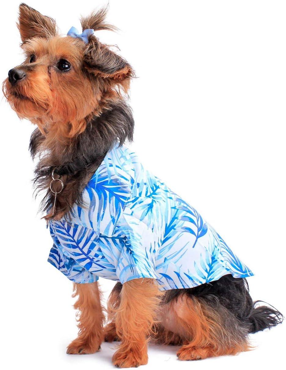 Amazon.com : Hawaiian Matching Pattern Dog Aloha Shirt in Simply ...